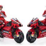 MotoGP, aujourd'hui la présentation de la nouvelle Ducati Lenovo Team