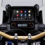 Honda CRF1100L Africa Twin encore plus connectée: Android Auto arrive