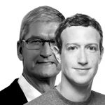 Apple vs Facebook, Cook vs Zuckerberg: la bataille devient rude