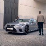 Lexus LS 500h: avec l'année modèle 2021, améliore la maniabilité de l'hybride multiétage