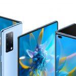 Officiel Huawei Mate X2: rompre avec le passé, le pli interne |  prix