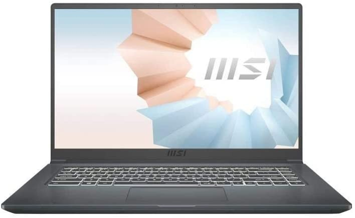 MSI Modern avec Intel à partir du 11 janvier  venez sur le marché avec la disponibilité d'Amazon