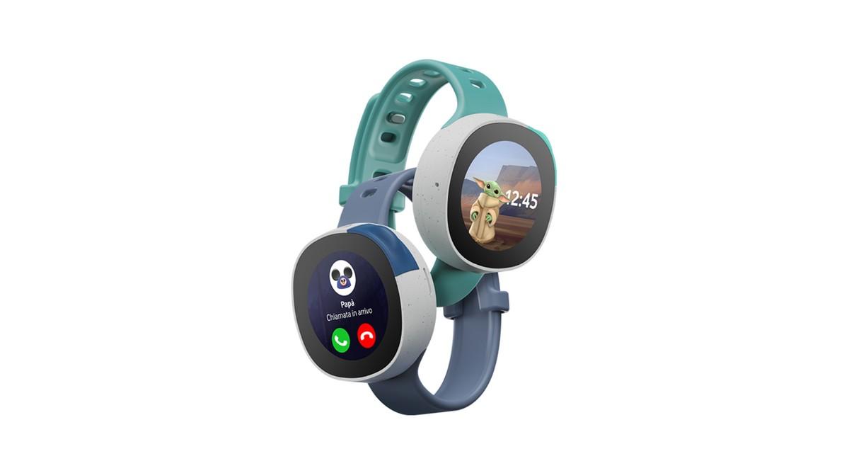 Vodafone Neo disponible en Italie: la smartwatch pour les petits de Disney