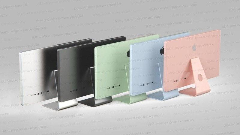 IMac 2021 d'Apple en cinq variations de couleurs, les mêmes que le nouvel iPad Air |  Rumeur
