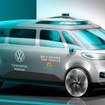 Volkswagen ID.  BUZZ sera le premier véhicule du Groupe à conduite autonome