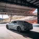 Mercedes EQS électrique, les débuts toujours plus proches: un teaser révèle de nouveaux détails