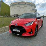 Voiture de l'année 2021, Toyota Yaris l'emporte.  La deuxième est la Fiat 500 électrique