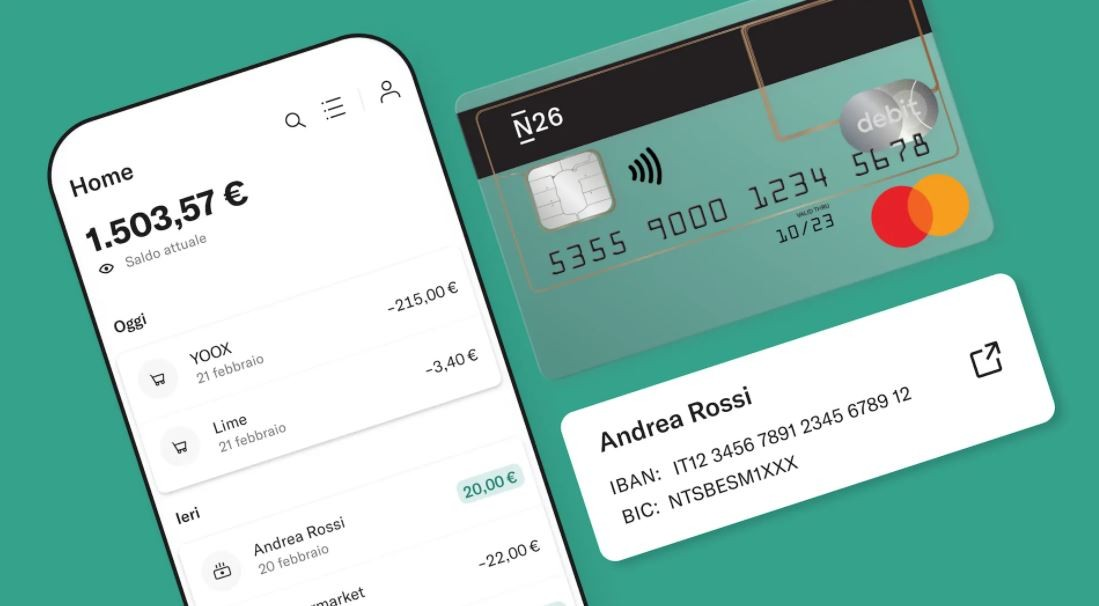 N26 Cashless, payez par carte et gagnez des bons Amazon: comment ça marche