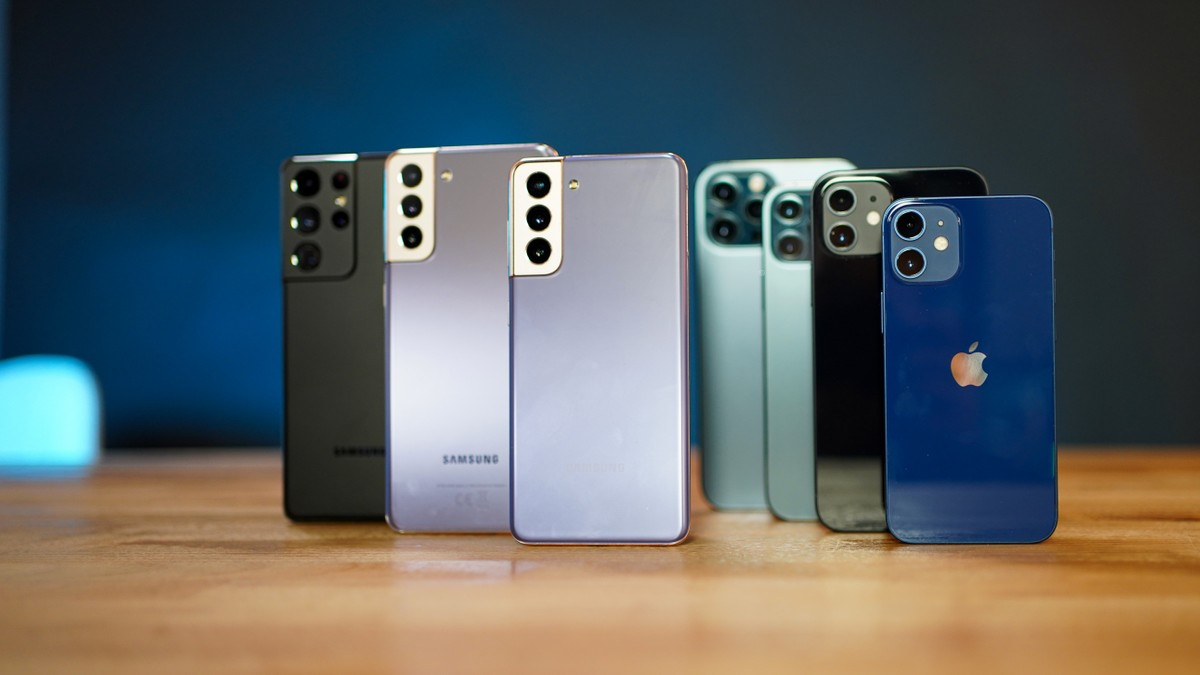 Voici les smartphones les plus rapides sur les réseaux 5G: le Galaxy S21 se démarque, l'iPhone 12 ne se voit pas