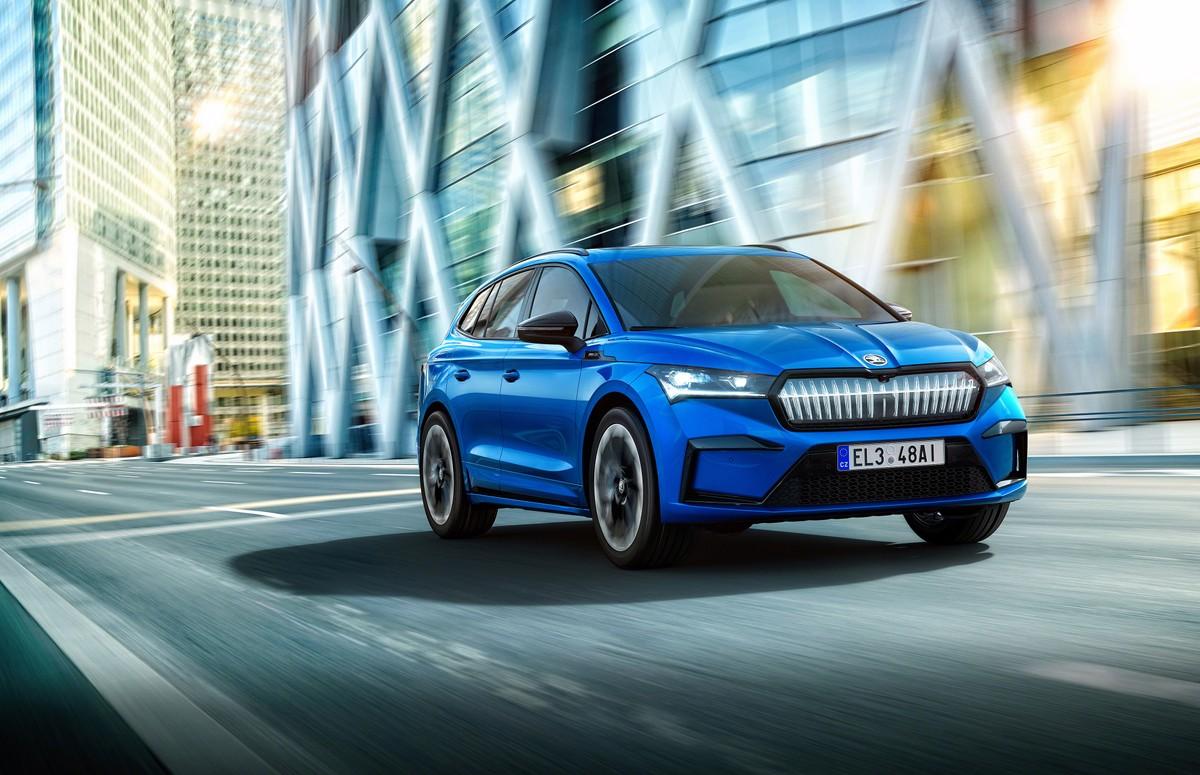 Skoda ENYAQ iV, les nouvelles versions du SUV électrique arrivent sur la liste