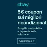 eBay: coupon de réduction de 5 euros sur une sélection de produits reconditionnés