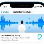 Apple partage les nouvelles découvertes d'une étude sur la santé auditive