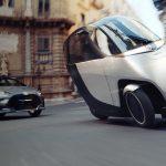 """Nimbus, le """"scooter"""" électrique à trois roues arrive en Europe en 2022"""