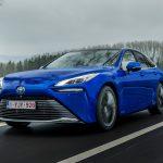 Toyota Mirai, la nouvelle pile à combustible avec 650 km d'autonomie arrive en Italie