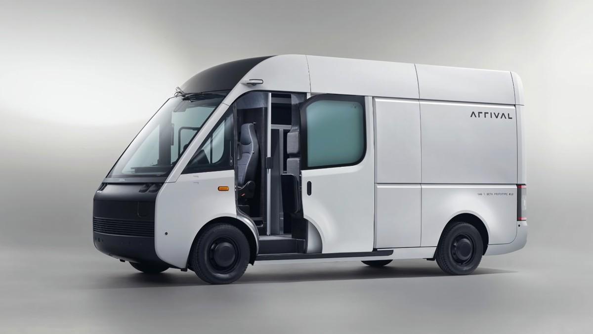 Arrivée présente son nouveau van électrique: premiers tests en été avec UPS
