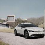 Kia EV6, a dévoilé le design du crossover électrique: présentation le 30 mars