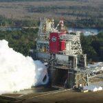 Système de lancement spatial de la NASA, deuxième test de tir à chaud pour le 18 mars