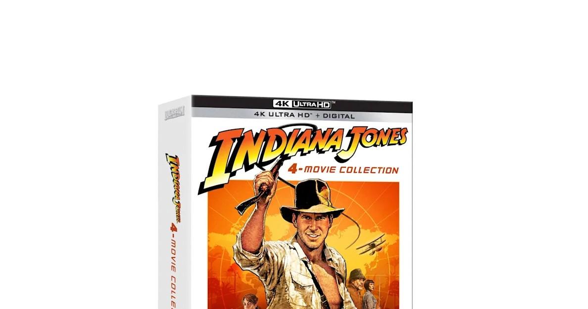 Indiana Jones fête ses 40 ans et célèbre avec le coffret de films 4K Ultra HD