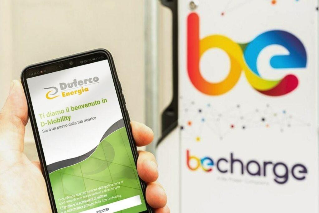 Be Charge avec Duferco Energia: leurs points de charge deviennent interopérables