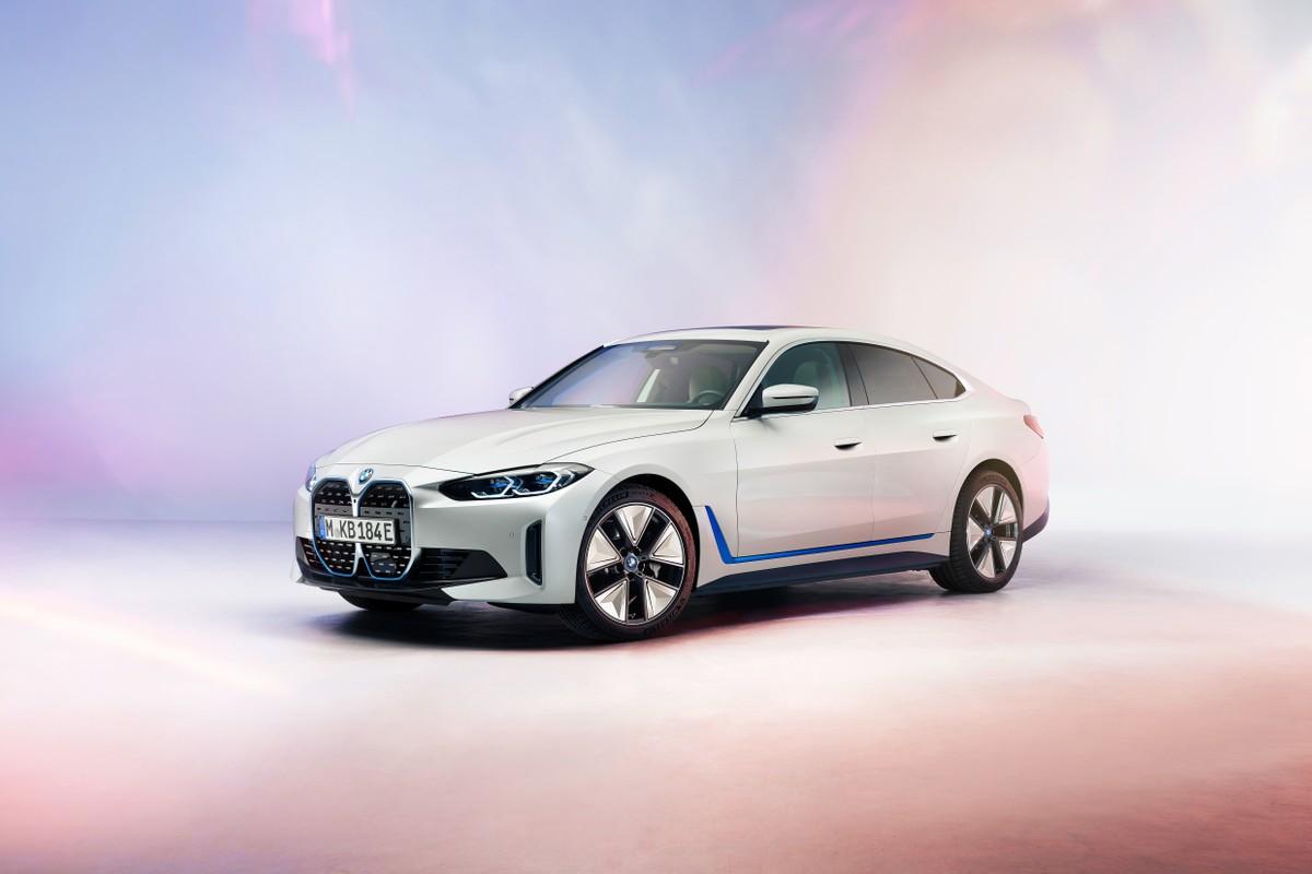 BMW dévoile le design de la nouvelle i4 électrique