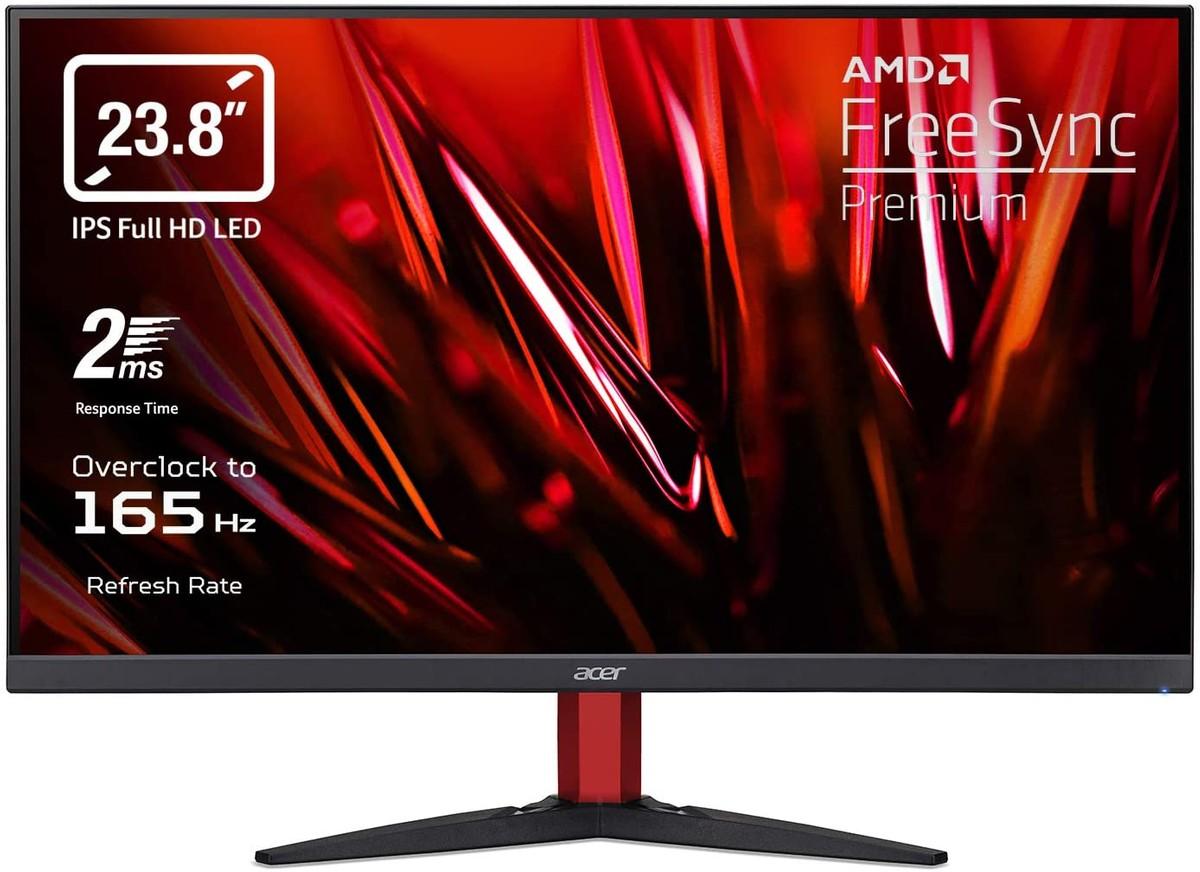 """Moniteur de jeu incontournable: Acer Nitro 24 """"165Hz à 50% de réduction sur Amazon"""