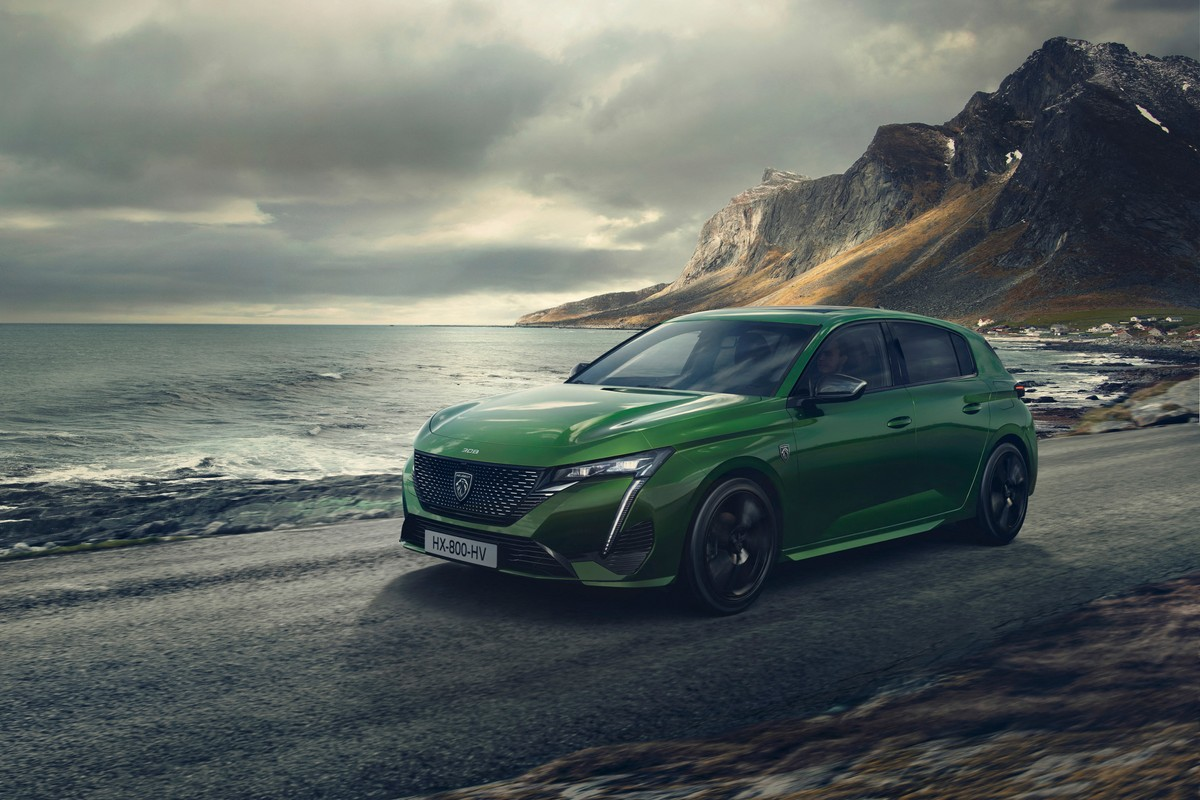 Peugeot 308, la nouvelle génération, plus technologique et aussi hybride