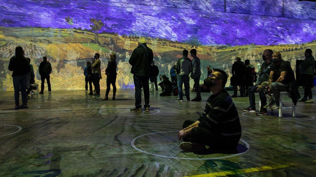 Dans la nuit étoilée de Van Gogh: voici l'expérience immersive