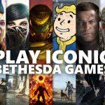 20 des titres les plus emblématiques de Bethesda arrivent sur Xbox Game Pass