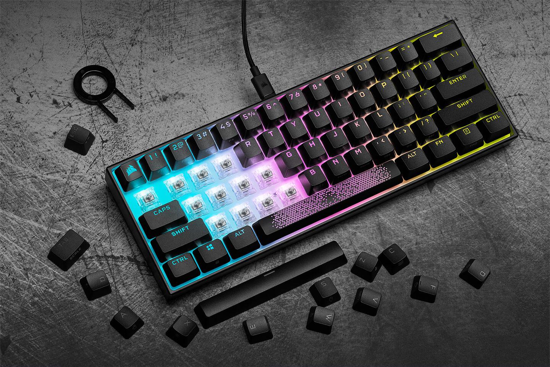 CORSAIR K65 RGB MINI - Le nouveau clavier gaming 60% 8000Hz