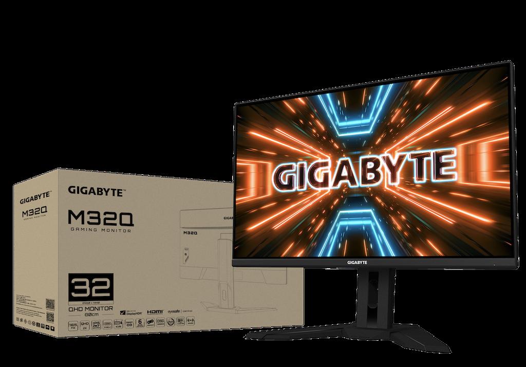 GIGABYTE lance le nouveau moniteur de jeu M32Q 170Hz